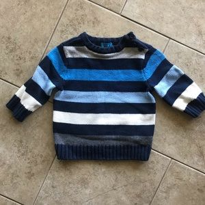 Children's Place Boys Striped Sweater